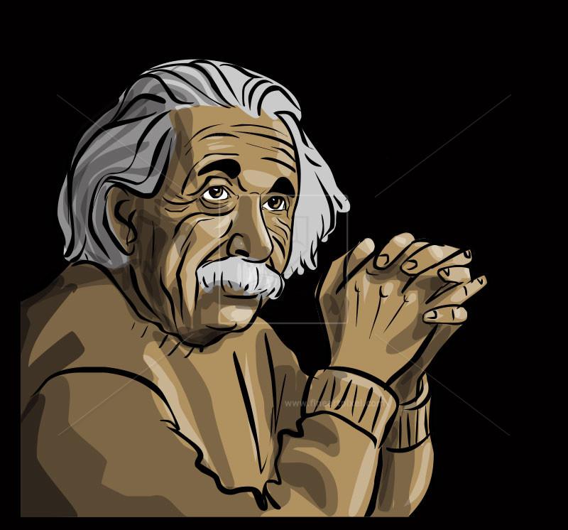 Einstein clipart portrait. Albert clip art free