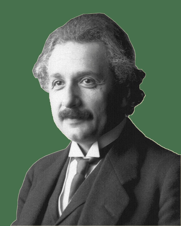 Albert smiling transparent png. Einstein clipart portrait