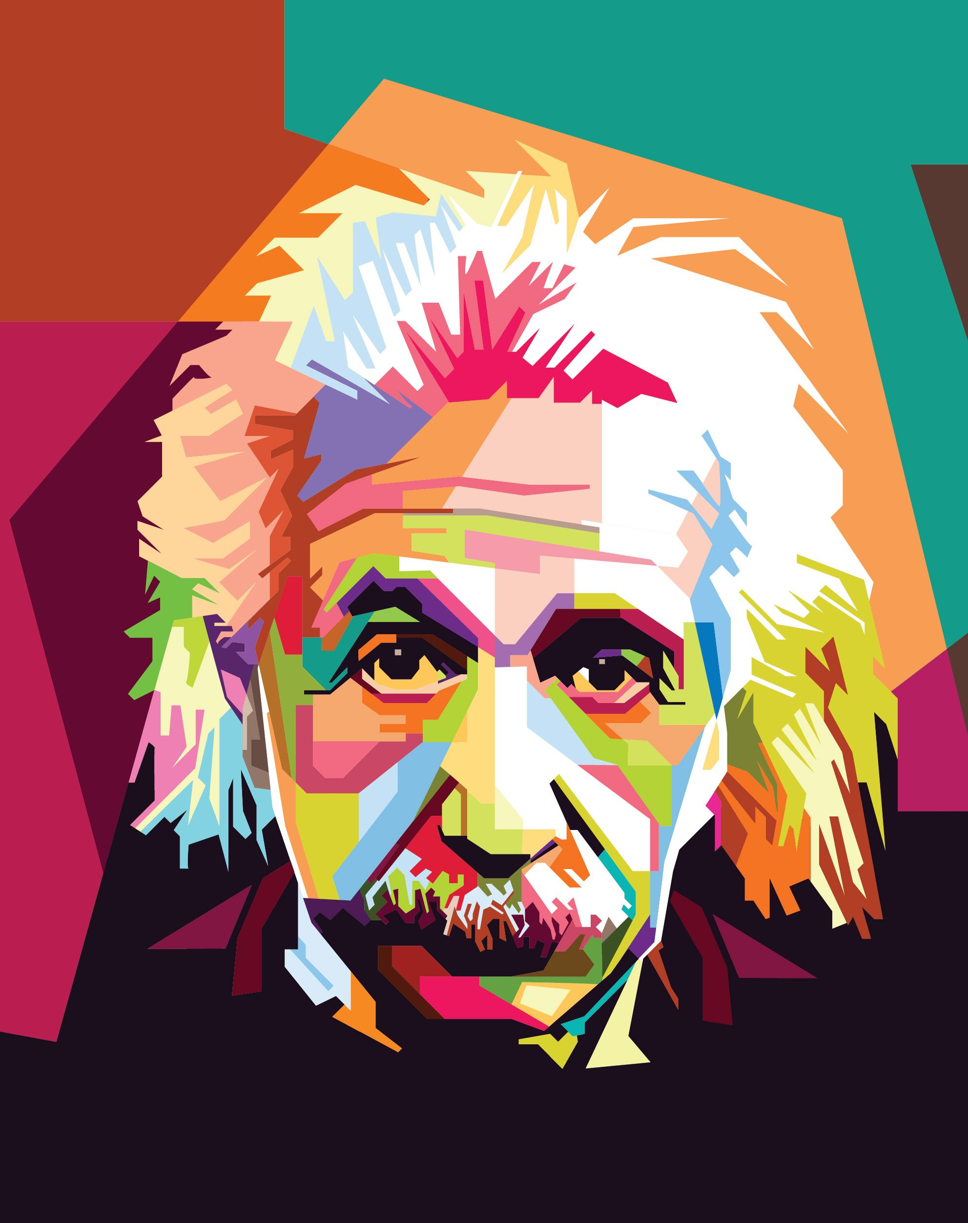 Scientists have continually expressed. Einstein clipart portrait
