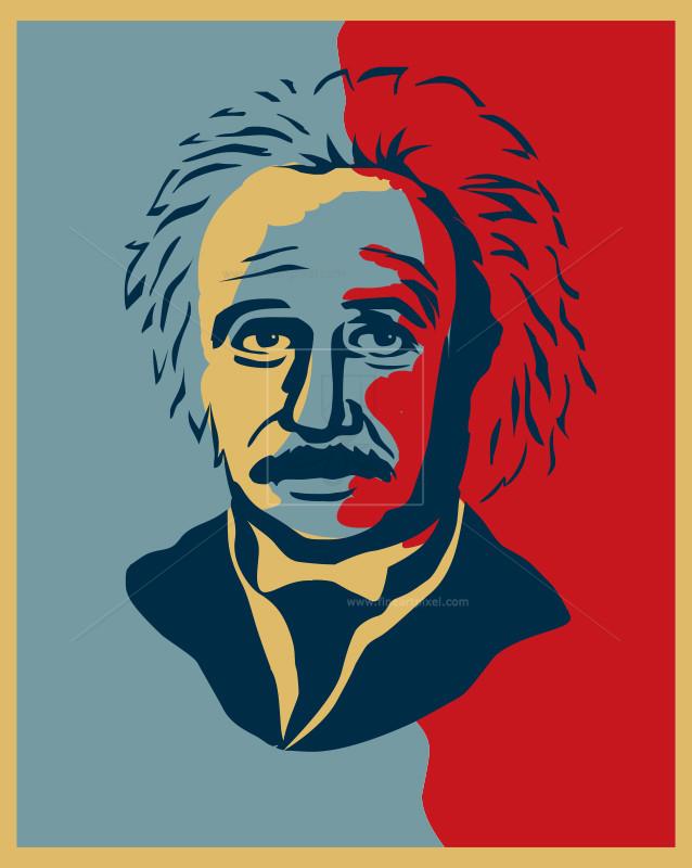 Einstein clipart portrait. Albert illustration free vectors