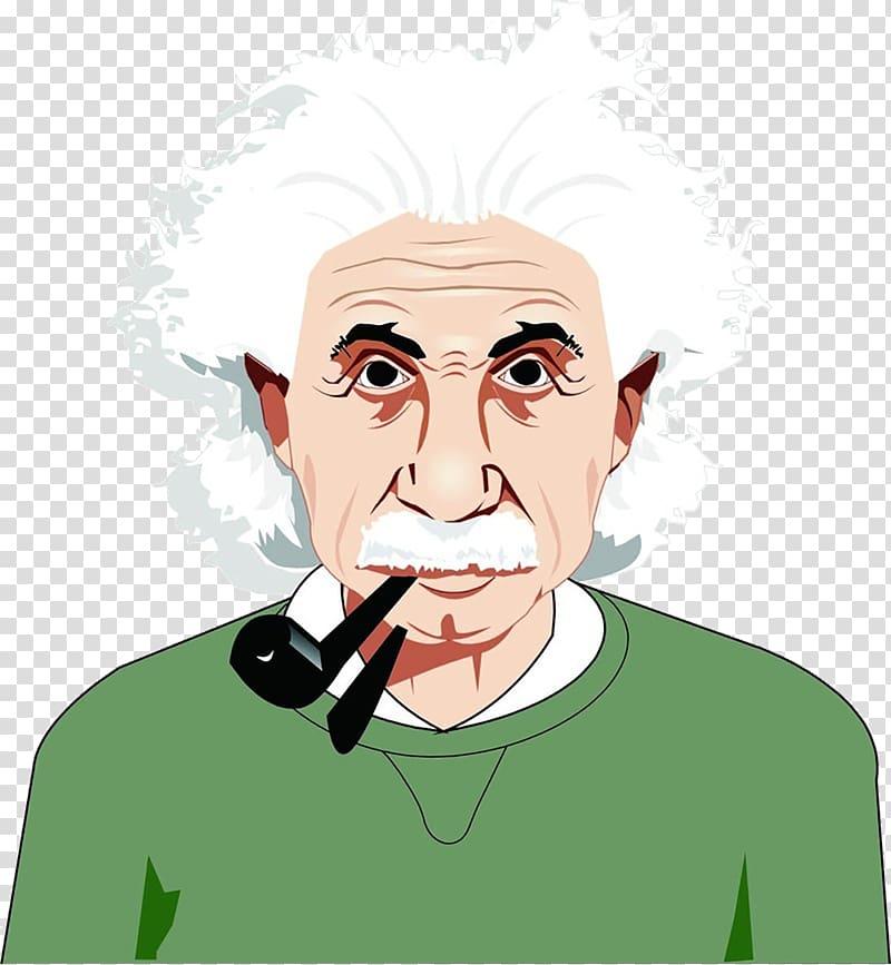 Albert memorial scientist physics. Einstein clipart portrait