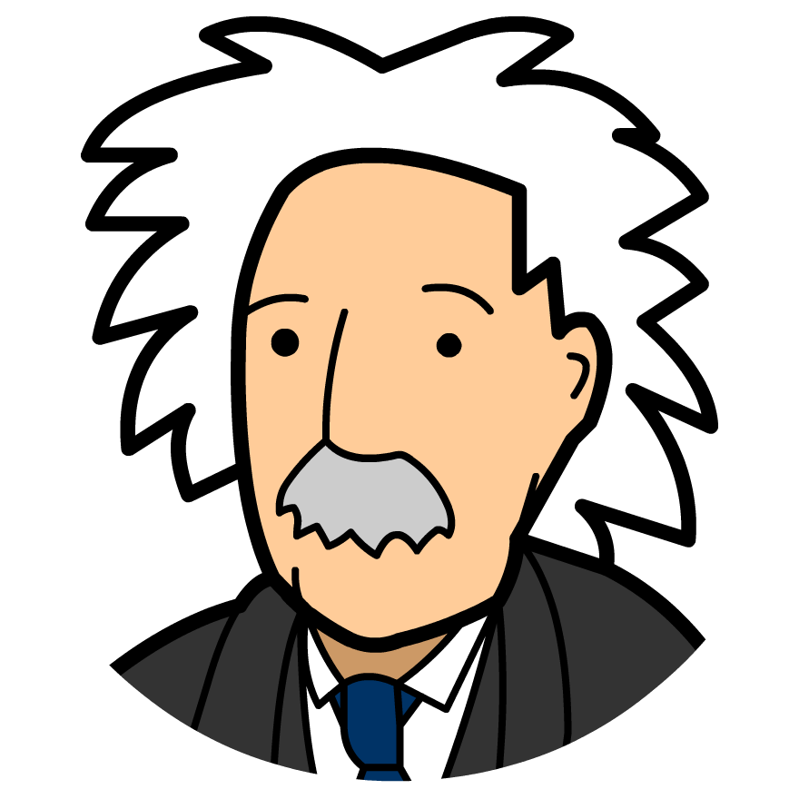 Einstein clipart science quiz. Time zone x calculus