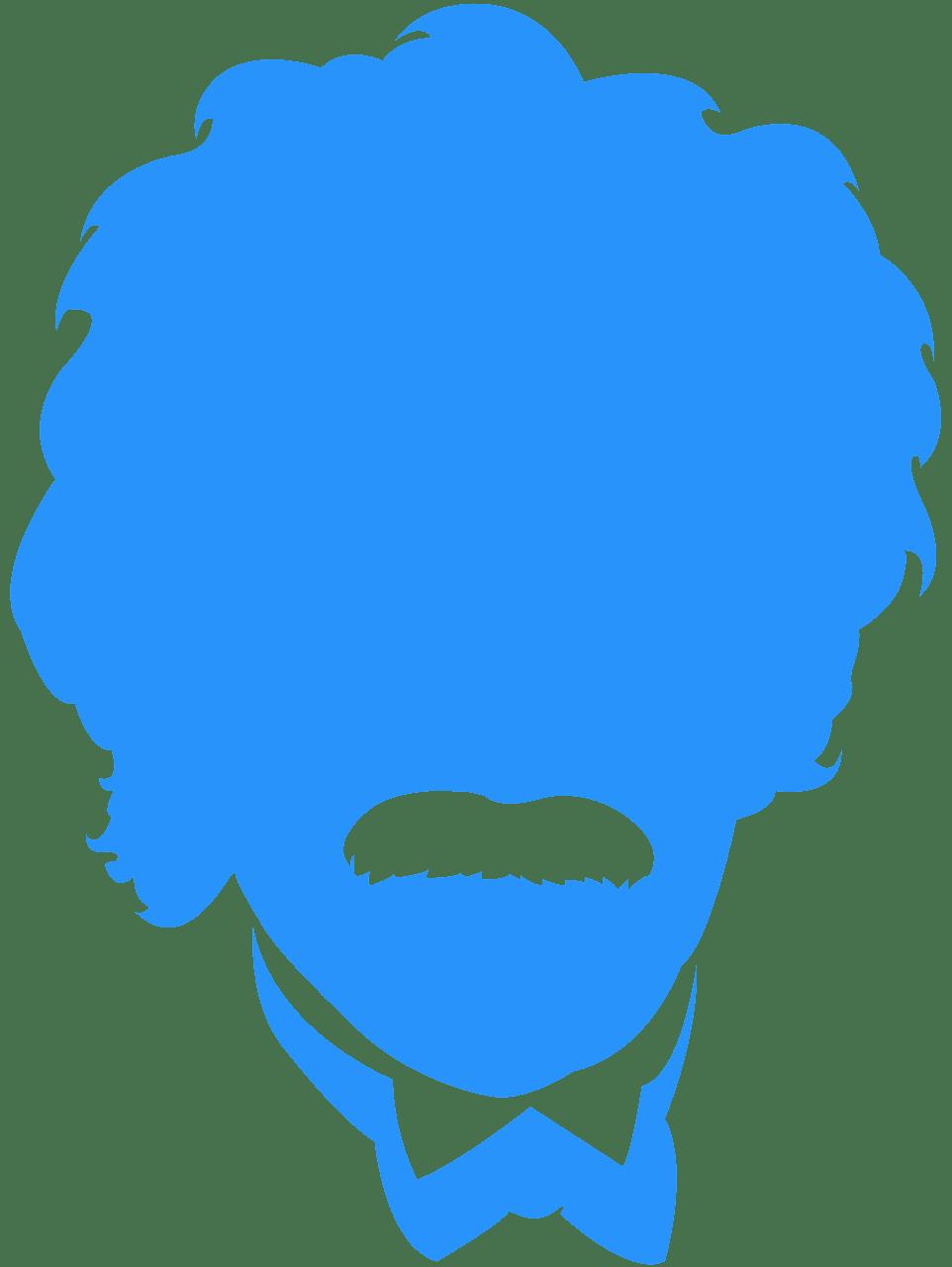 Einstein clipart silhouette. Albert free vector silhouettes