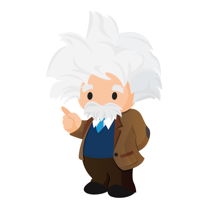 . Einstein clipart sketch