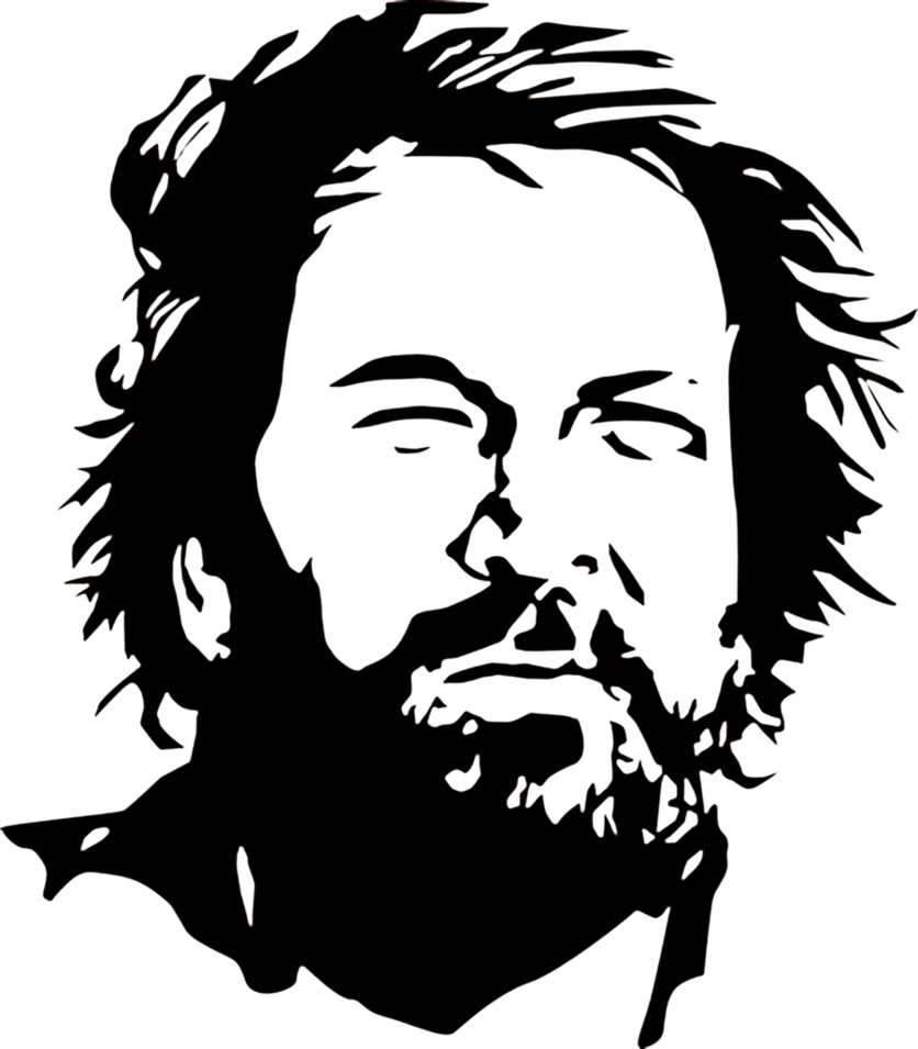 Bud spencer illustrazione pinterest. Einstein clipart stencil