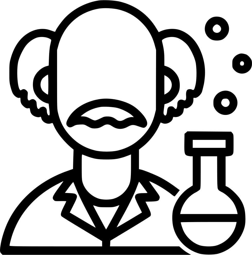 Einstein clipart svg. Scientist knowledge mad scientific