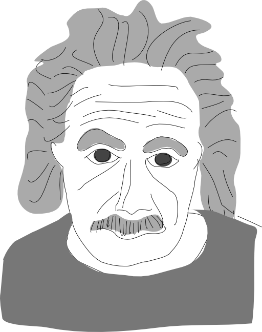 I royalty free public. Einstein clipart svg