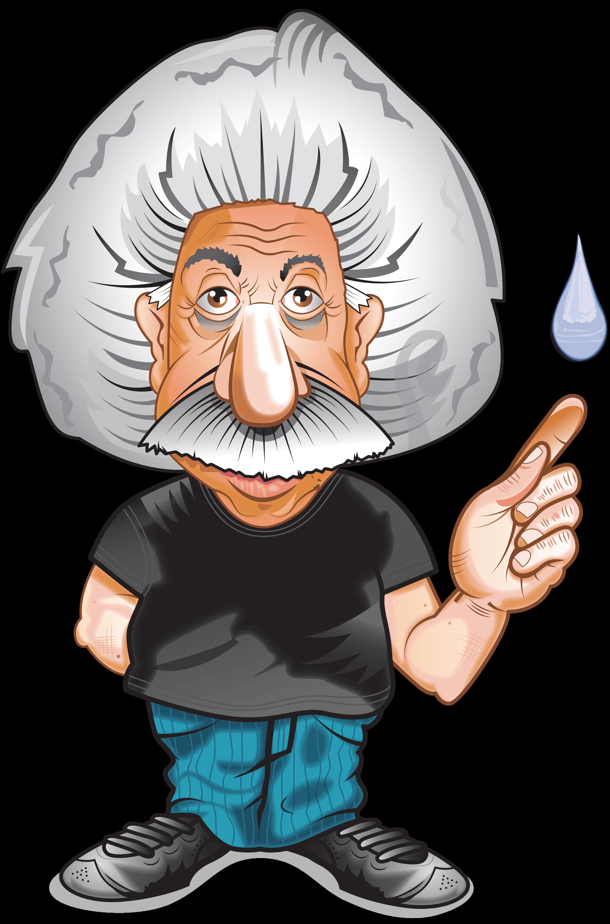 Einstein clipart transparent. Plumbing services cleveland ohio