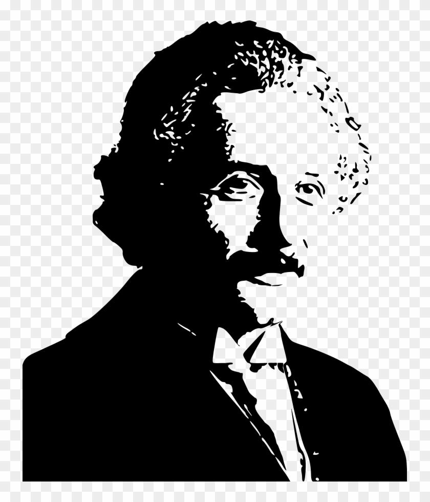 Albert silhouette png for. Einstein clipart vector