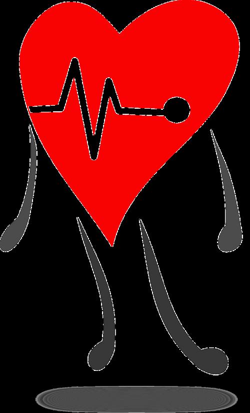 Heart clipart pulse. Free photos ekg electrocardiogram