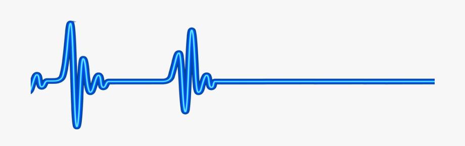 Heartbeat clipart blue. Clip art heart beat
