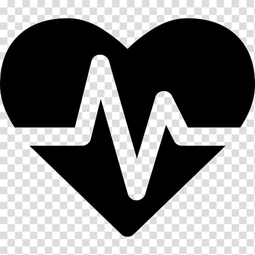 Heartbeat clipart health symbol. Pulse heart rate electrocardiography