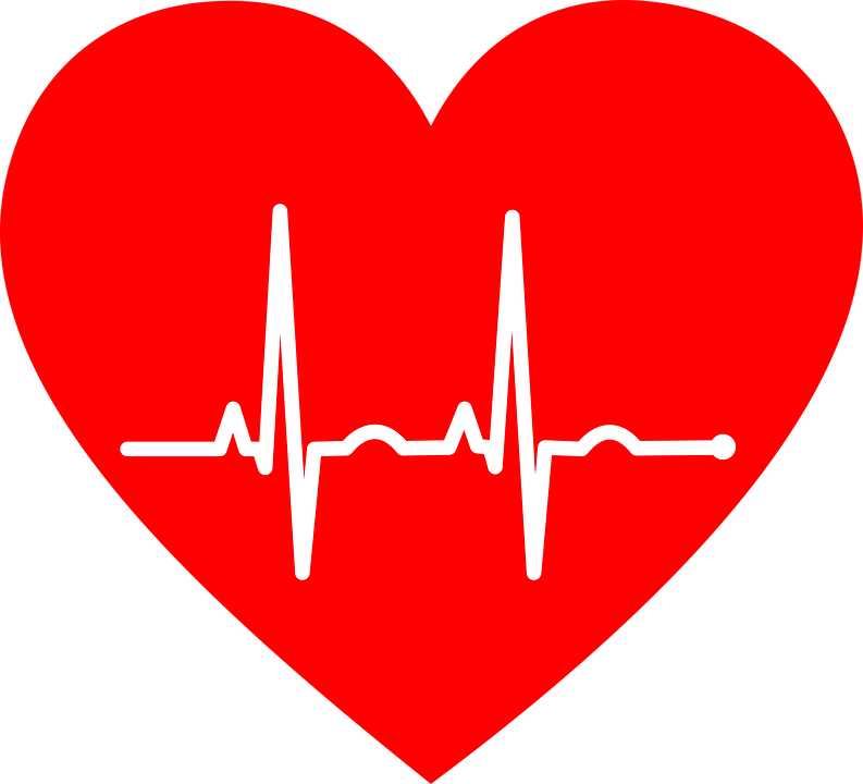 Heartbeat clipart lifeline. Ekg symbol group electrocardiogram