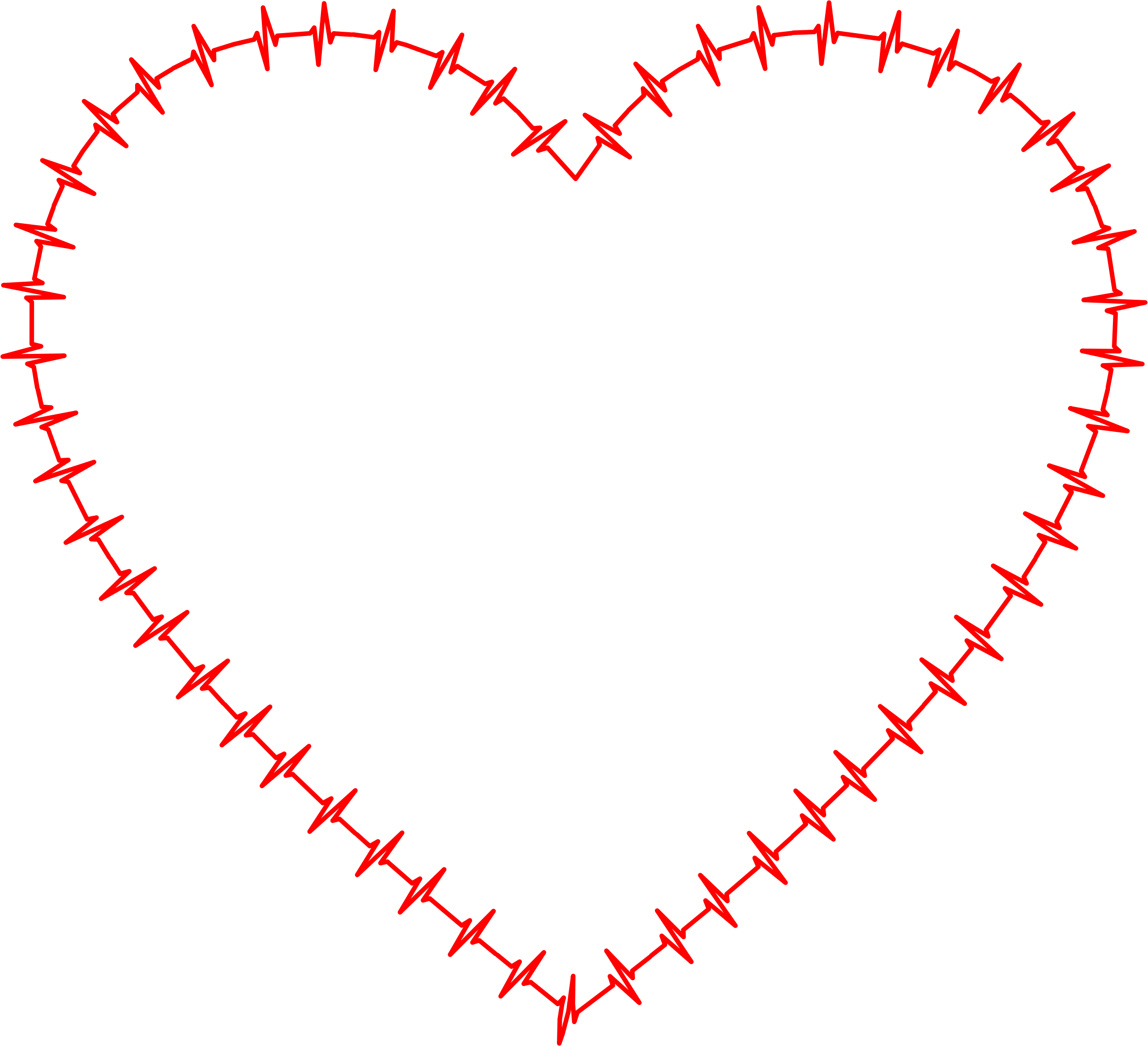 Rhythm thick icons png. Ekg clipart heart shaped