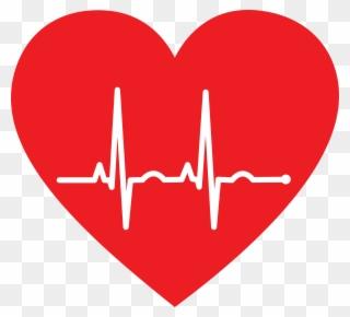 Free png heart clip. Ekg clipart love line
