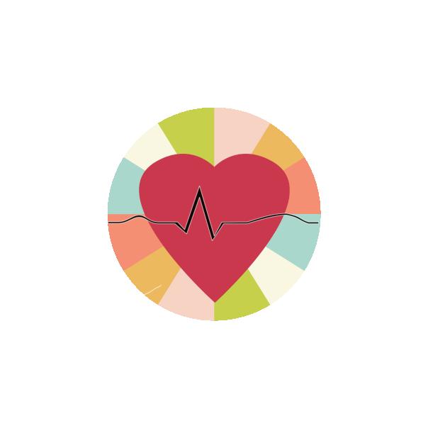 Ecg arhythmias with musical. Heartbeat clipart sinus rhythm