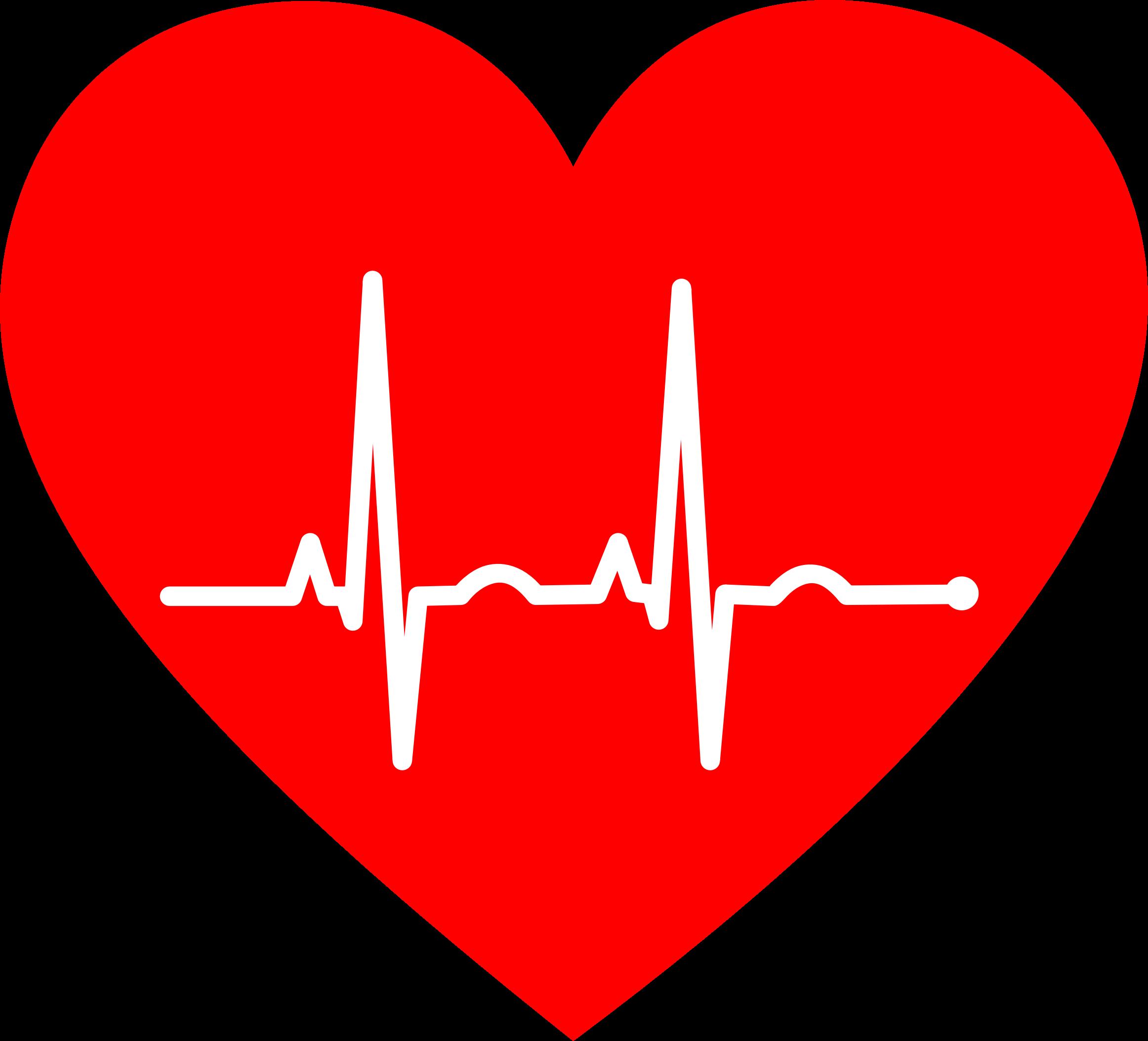 Heart clipart pulse. Ekg big image png