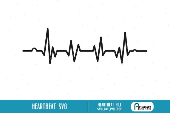 Pin on products . Heartbeat clipart svg