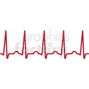 Svg cut file royalty. Heartbeat clipart ekg