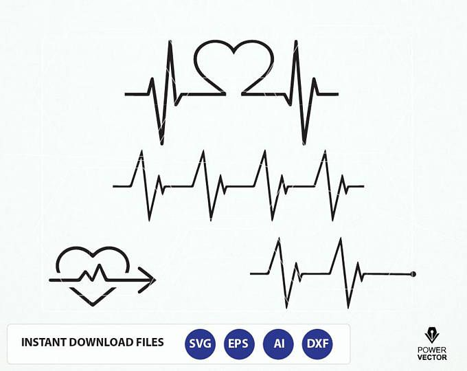 Heartbeat clipart triglyceride. Svg ekg line