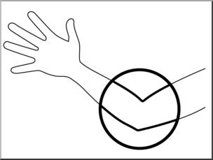 Elbow clipart. Clip art parts of