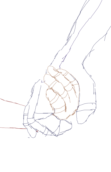 Holding hands by liongirl. Skin clipart hand sketch