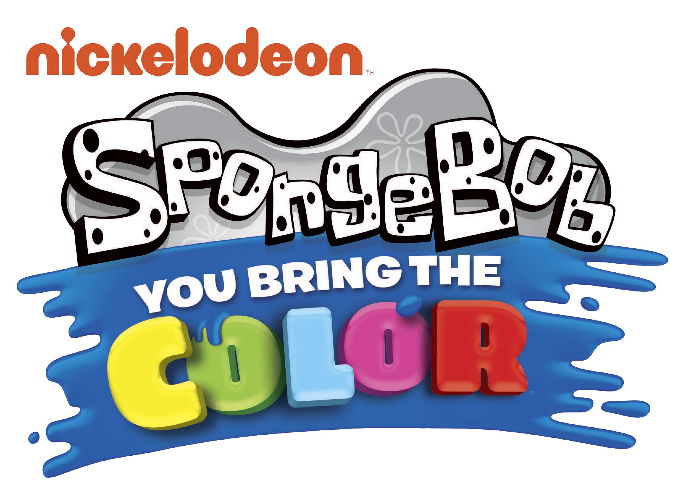 You bring the color. Elbow clipart spongebob