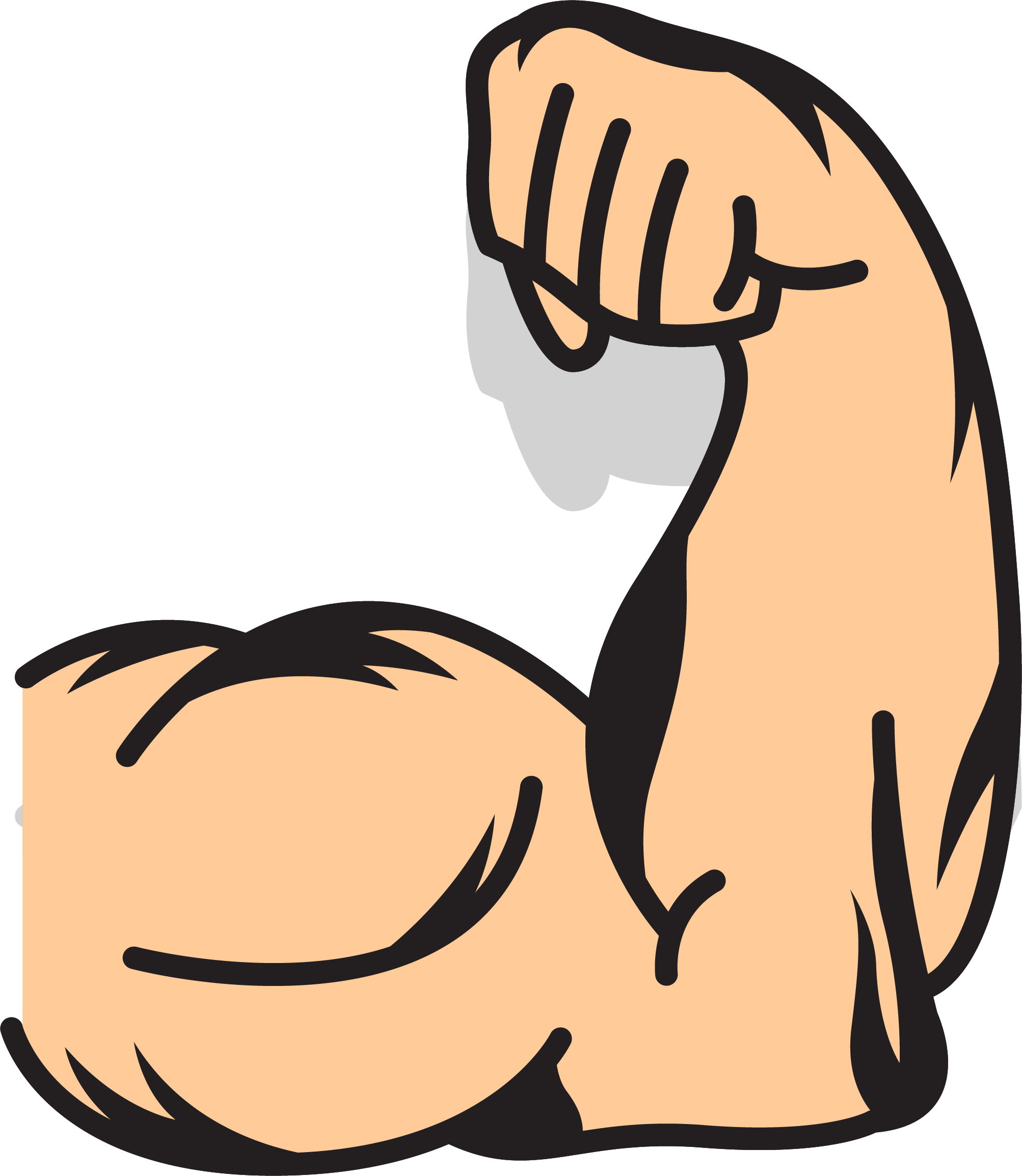 Arms clip art strong. Muscle clipart arm logo