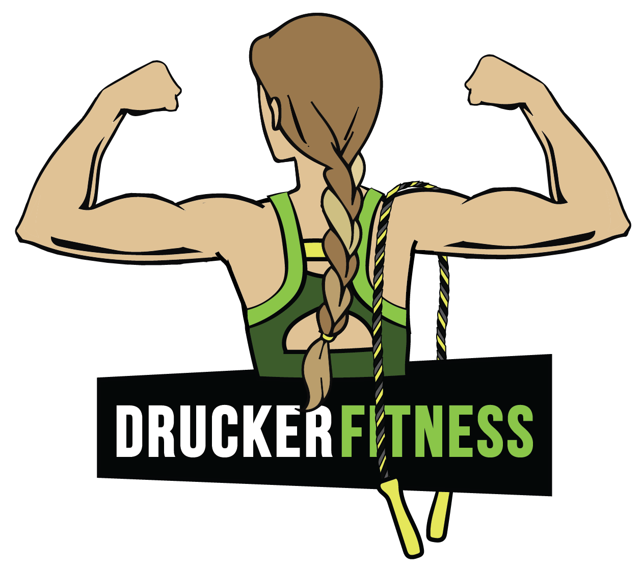 Gym clipart muscular strength. About gabby drucker fitness