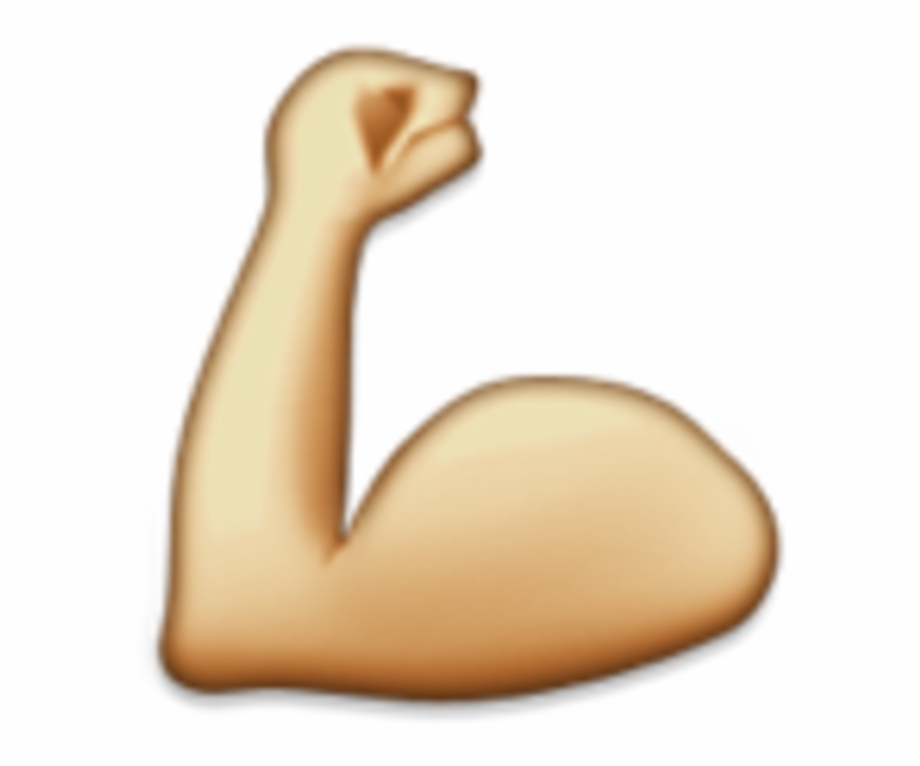 Elbow clipart strong hand. Emoji arm transparent png