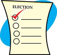 Ballot . Election clipart