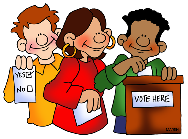 Conflict clipart person.  collection of election