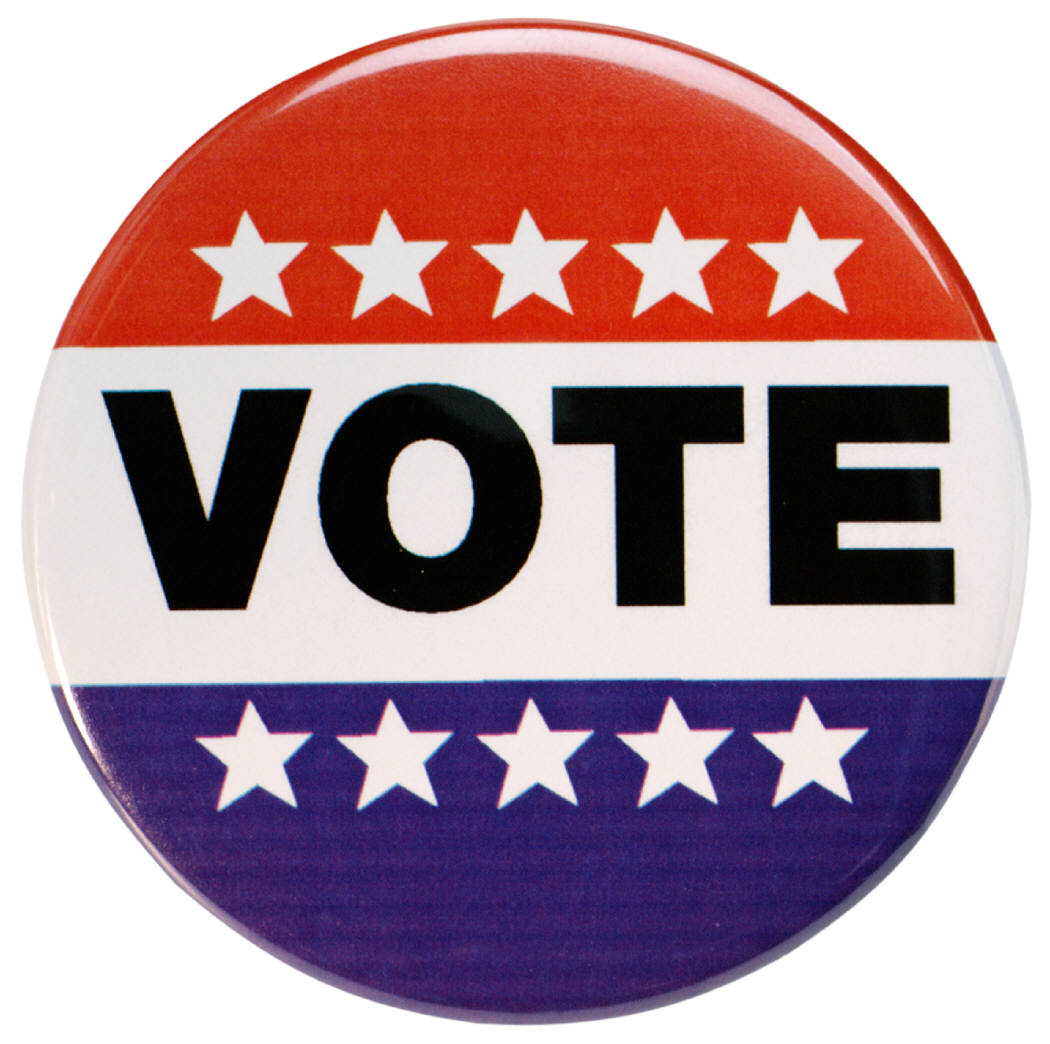 Election clipart. Vote button free dubuque
