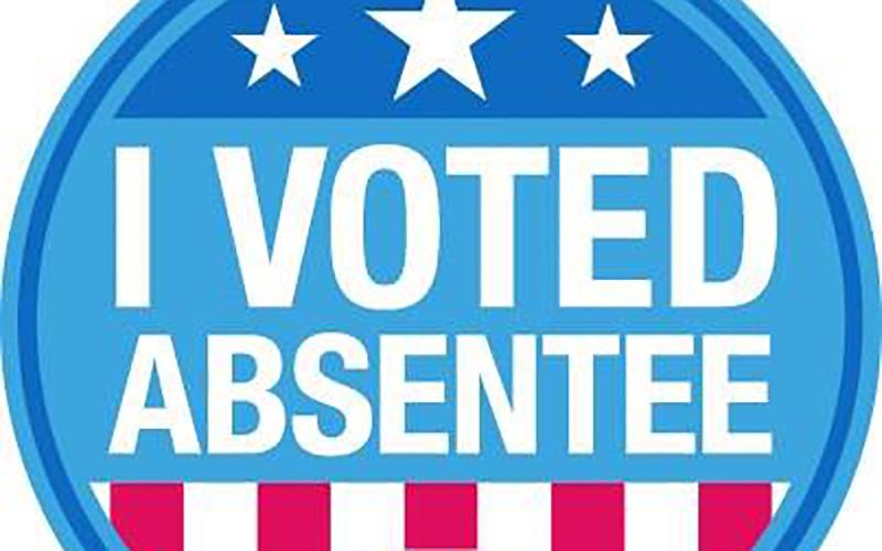 Voting open for nov. Election clipart absentee ballot