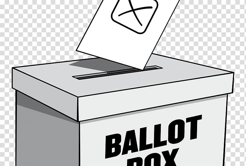 Election clipart ballot. Box day us voting