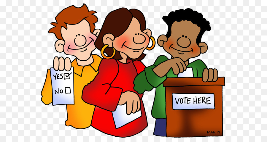 Child background text cartoon. Voting clipart elected official