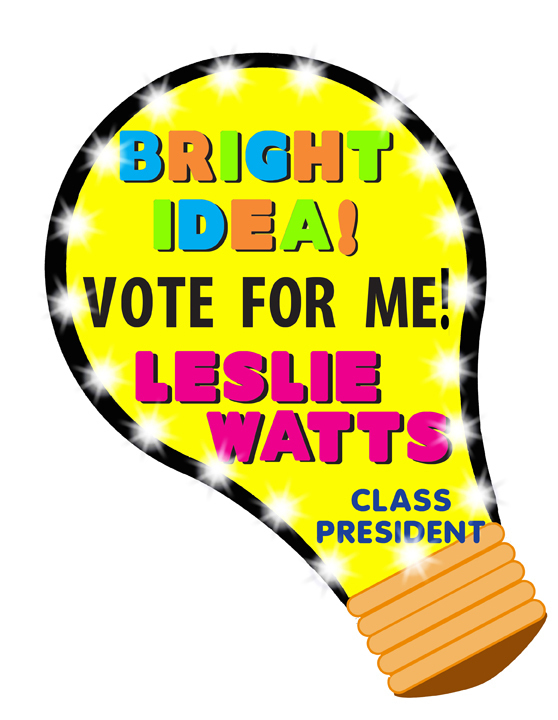 Free school election cliparts. Voting clipart campaign poster