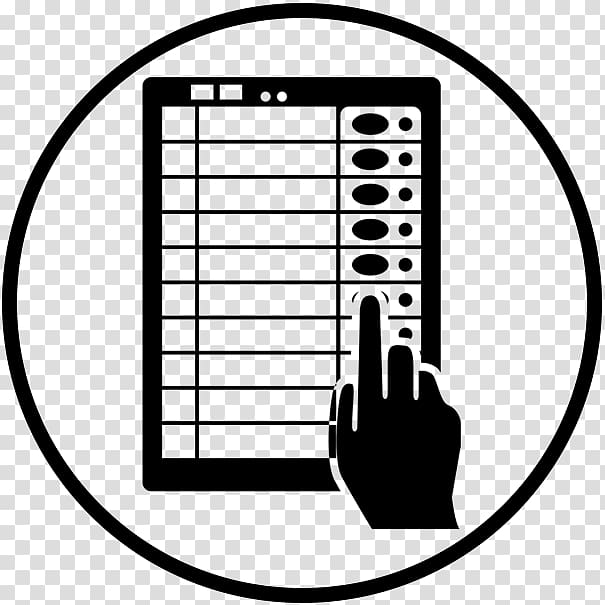 Electronic in . Voting clipart clipart india