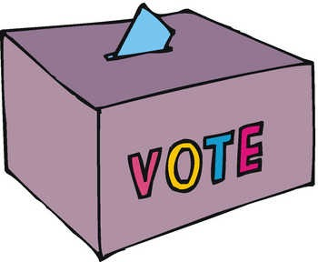 Voting clipart cute. Free vote reminder cliparts