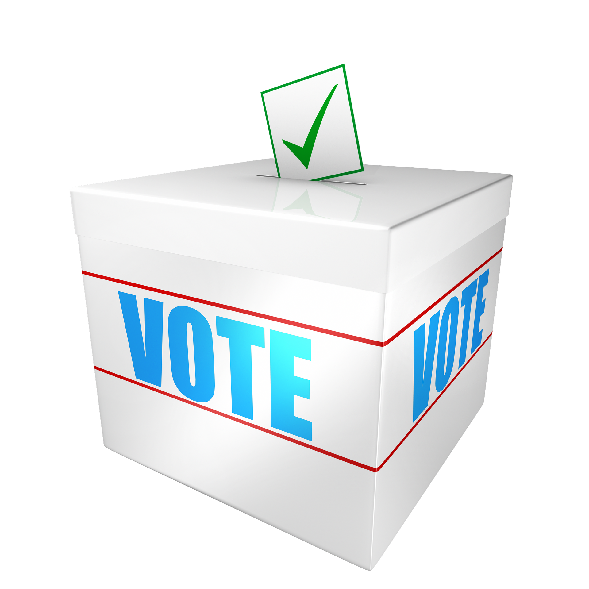 Niagara sees a drop. Voting clipart election day