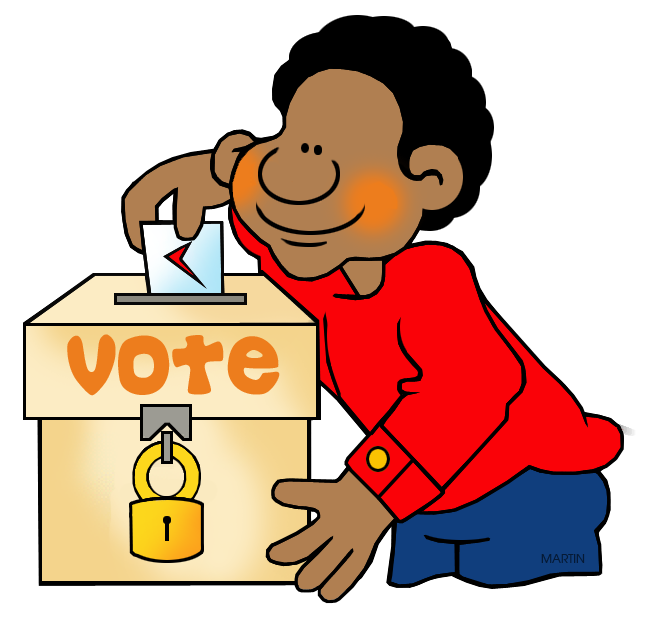 collection of election. Voting clipart student