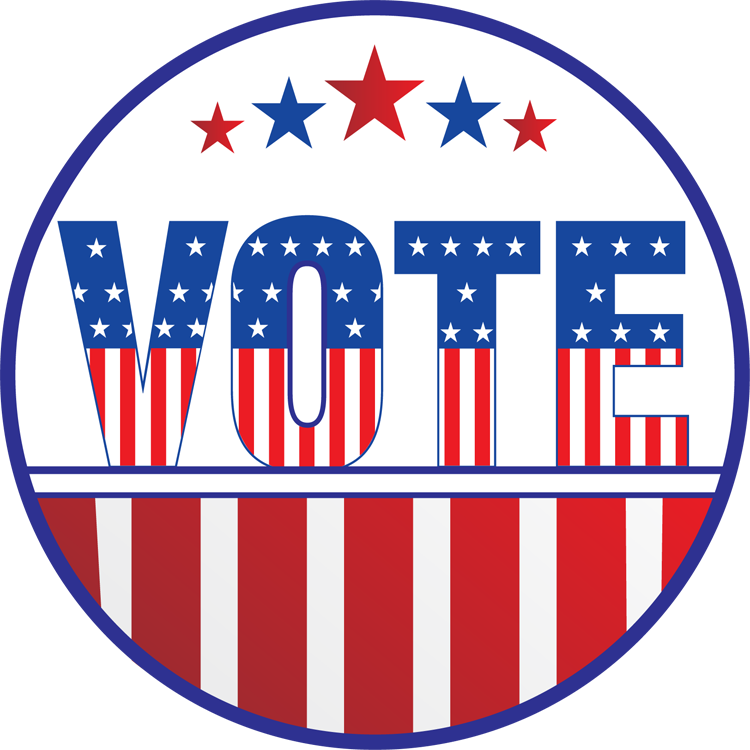 Voting clipart general election. Elections information city of