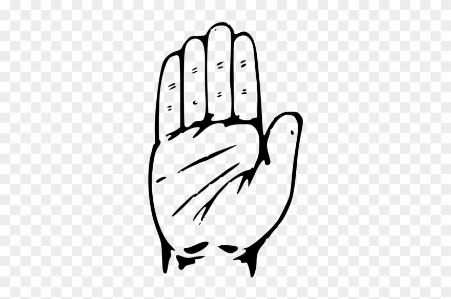 Election clipart hand. This is the symbol