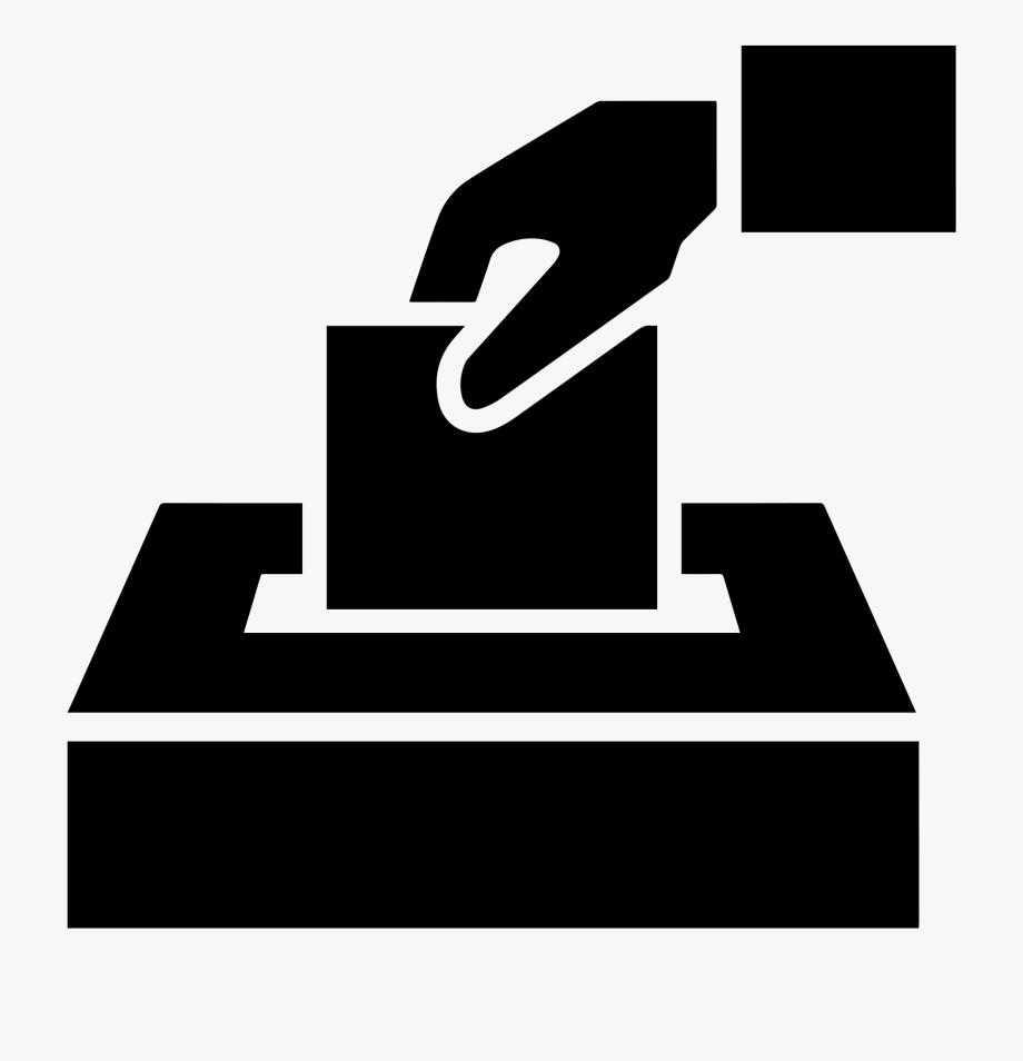 Voting clipart black and white. Vote transparent