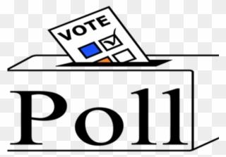 Voting clipart survey. Vote canadian election poll