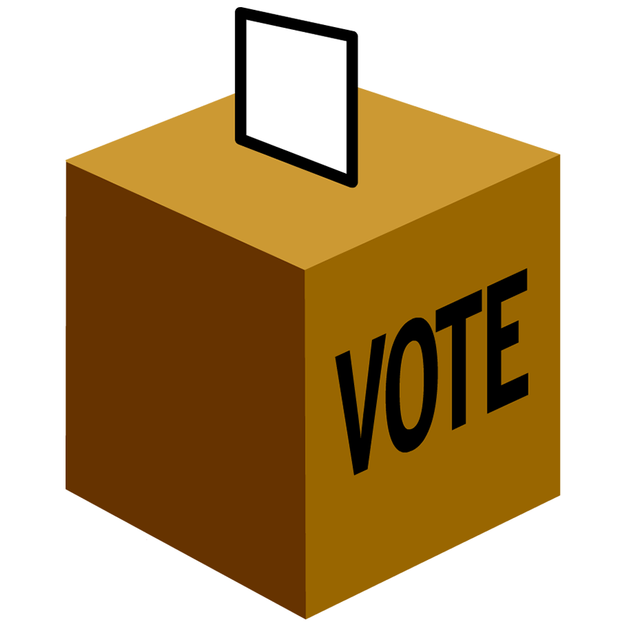 Voting clipart vector. Voters ed trial edition