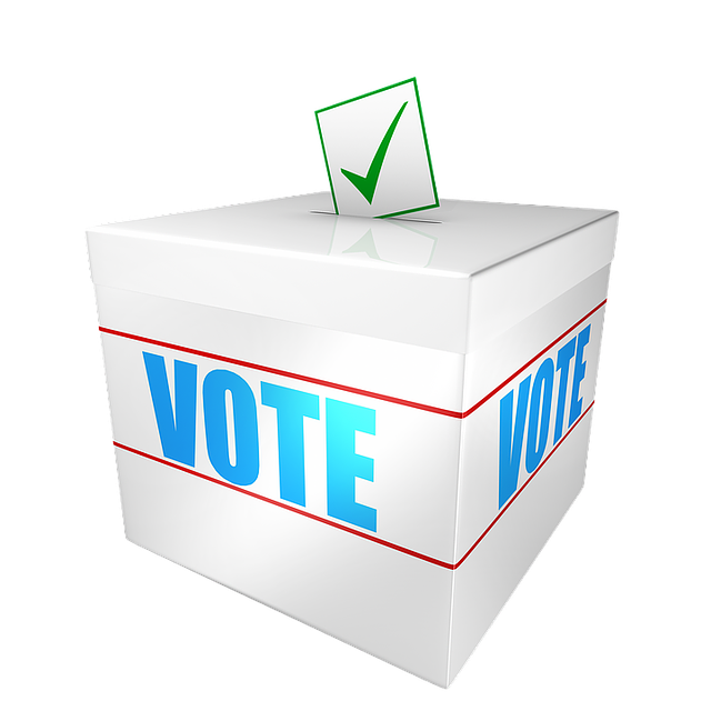 Vote rd may in. Election clipart polling station