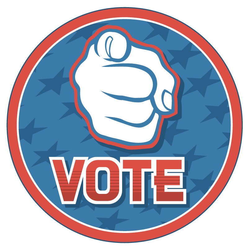 Voting clipart election candidate. Hey voters consolidated day