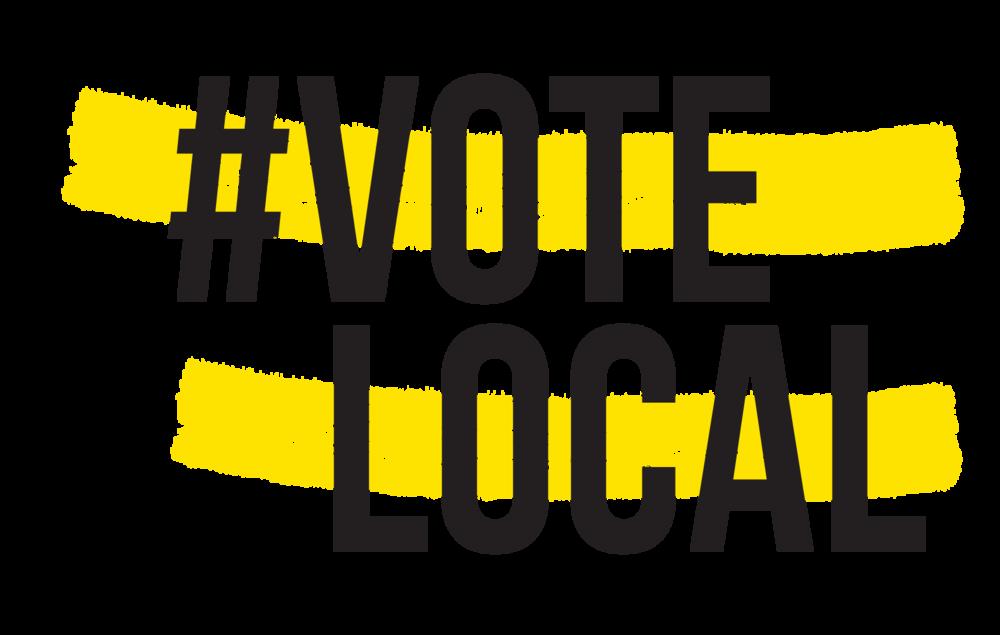 Votelocal t shirt vote. Voting clipart school election