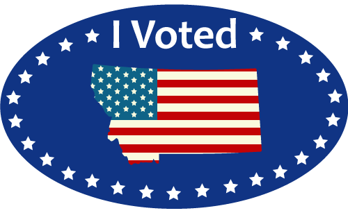 My voter page montana. Voting clipart secretary state